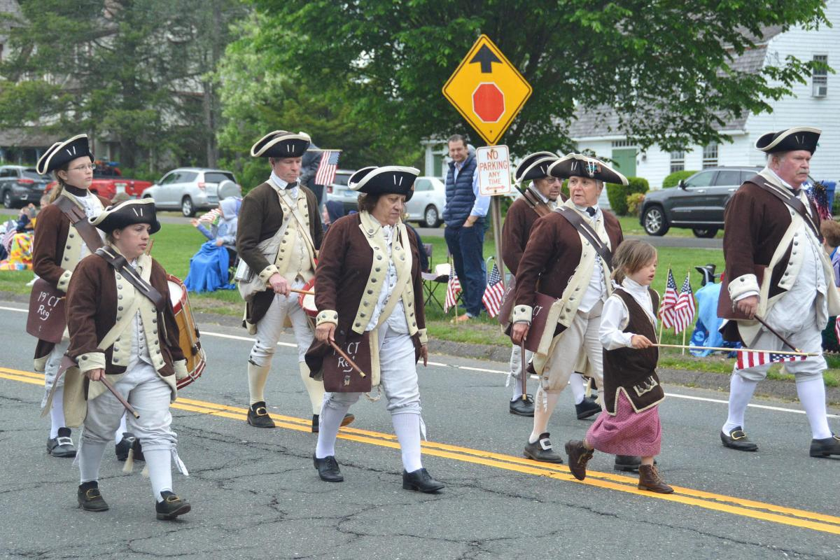 Colonial Marchers