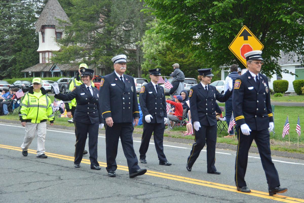 Firemen Marching