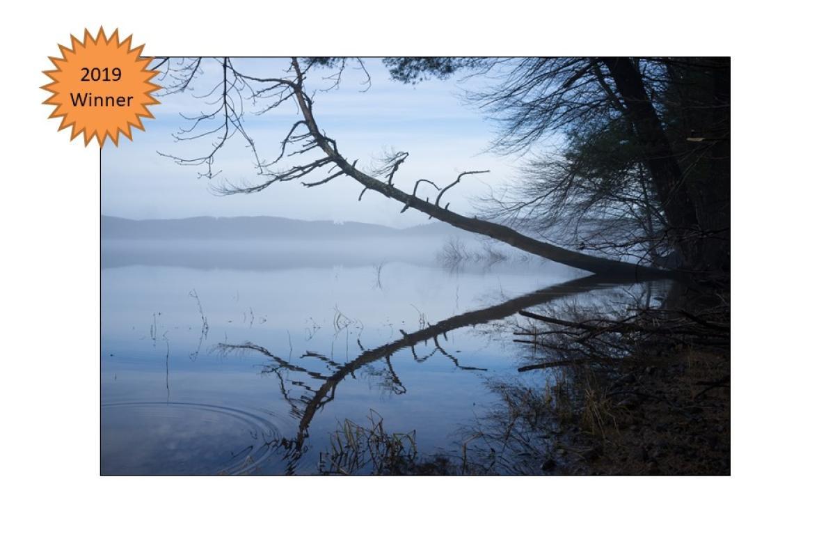 """2019 WINNER """"Shenipsit Lake Fog"""" by Mark Jackson"""